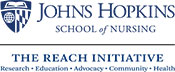 Johns Hopkins School of Nursing, The Reach Initiative Logo